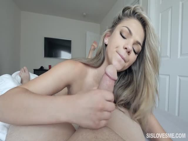 Step Sister Car Blowjob