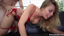 BritneyAmber Loves That Cock