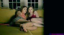 StepSiblingsCaught Gracie Green And Rosalyn Sphinx Scared Out Of Her Pants