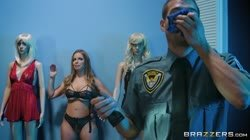 Brazzers Exxtra britney amber the mannequin and the security guard