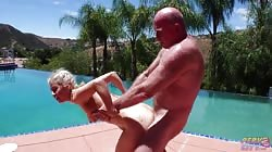 BangingBeauties Penelope Reed Poolside Frisky Business