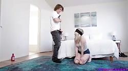 StepSiblingsCaught Coco Lovelock - Guess What I Put In Your Mouth