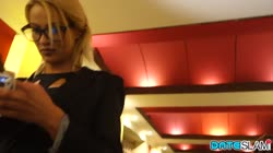 Ivana Anal On First Date With wild Blonde