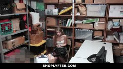 Shoplyfter - Naive Teen Strip-Searched And Fucked