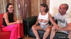 MILF francaise aux gros seins