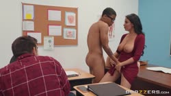 BigTitsAtSchool Anissa Kate Fucked In Front Of Class