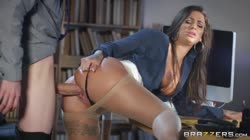 BigTitsAtWork - Susy Gala - Foot Clerk At Work
