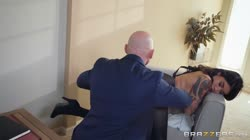 Brazzers - Brenna Sparks Banging My Bosss Daughter