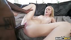 Bangbros Candy White - Candy Takes on a Monster Cock