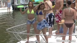 Wild teasing babes filmed