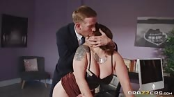Brazzers Lucia Love - My Submissive Boss