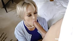 Fostertapes Dee Williams Foster Mom Demands Insemination