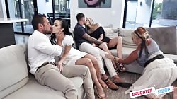 DaughterSwap Charlotte Sins And Diana Grace - Unconventional Sex Therapy
